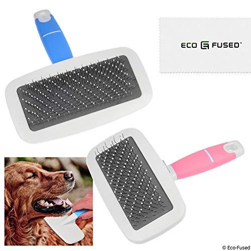 Eco Fused Cepillo Mascotas/Cepillo Slicker   Conjunto