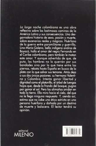 La Larga Noche Colombiana Cover Image