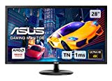 Asus VP28UQG - Ecran PC Gaming eSport 28' 4K - Dalle TN - 16:9 - 1ms - 3840 x 2160 - 300cd/m² - DP et 2 x HDMI - AMD FreeSync - Ecran Gamer Console PS4 / Xbox One X