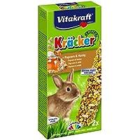 VITAKRAFT 25157–Kräcker AU Pop Corn y miel–Conejos enanitos P/2
