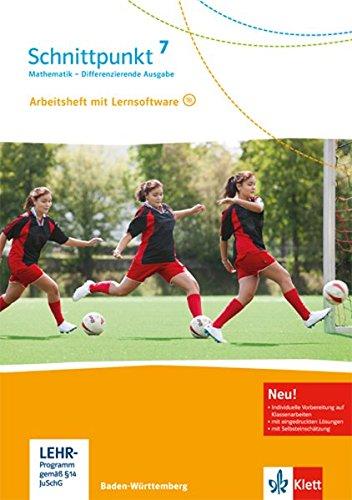 Preisvergleich Produktbild Schnittpunkt Mathematik - Differenzierende Ausgabe für Baden-Württemberg / Arbeitsheft mit Lösungsheft 7. Schuljahr