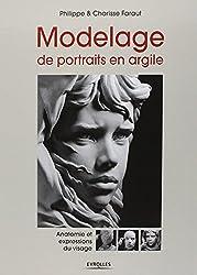 Modelage de portraits en argile - Anatomie et expressions du visage