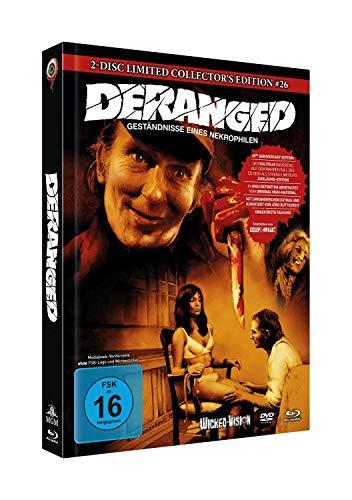 Deranged - Geständnisse eines Nekrophilen (2-Disc Limited Collector's Edition Nr. 26) [Blu-ray]