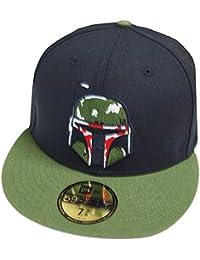8d289c81b067f New Era Boba Fett Black Olive 59fifty 5950 Fitted Cap Basecap Kappe Mens Star  Wars
