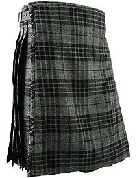 Écossais kilt Hommes montagnes robe traditionnel -Gris 1adabc2eef7