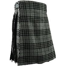 Gris para falda escocesa Scottish Highland falda tradicional e instrucciones para hacer vestidos