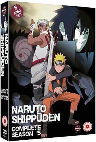 Naruto-Shippuden: Complete Series 5 [Edizione: Regno Unito] [Import italien]