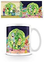 Pyramid International Rick and Morty - Taza Portal, 320ml