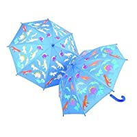 THINK PINK DINOSAUR COLOUR CHANGING UMBRELLA by THINK PINK