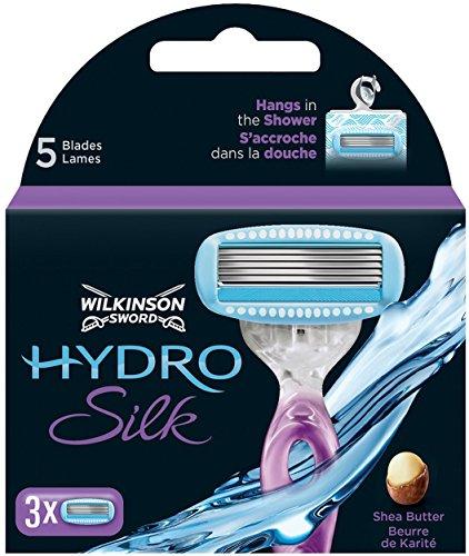 Wilkinson Sword Hydro Silk Klingen, 3 Stück