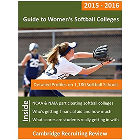 Guide to Women's Softball Colleges: Detailed Profiles on 1,180 NCAA & NAIA Softball Schools