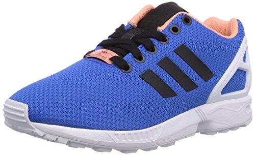 adidas Originals Zx Flux Unisex-Erwachsene Sneakers Blau (Blau Bird/Ftwr Weiß/Off Weiß)