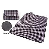 Picknickdecke, extra groß, wasserdicht, auch als Reisedecke für Haustiere im Auto geeignet