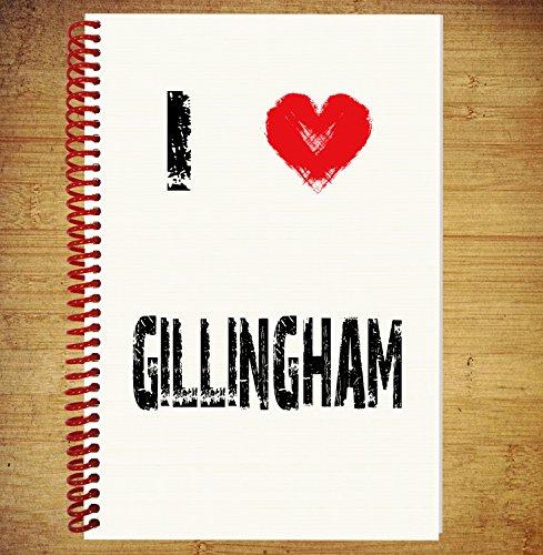 a5-notebook-zeichnen-pad-diary-gedanken-ideen-plane-i-love-gillingham
