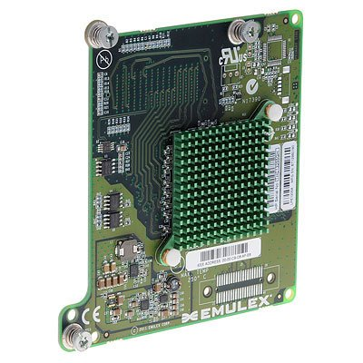 HPE LPe1205A - Hostbus-Adapter - PCIe 2.0 x 4/PCIe x8-8Gb Fibre Channel x 2 - für Modular Smart Array 1040, 2040, 2040 10; ProLiant BL460c Gen8, WS460c Gen8; StoreEasy 3850 -