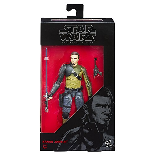 Hasbro Star Wars B6329El2 - Rebels The Black Series Figur: Kanan Jarrus Actionfigur, 6 (Lichtschwert Wars Kanan Star)