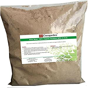 Cocogarden Organic Steamed Bone Meal NPK (3-15-0) Fertilizer, 900 GMS