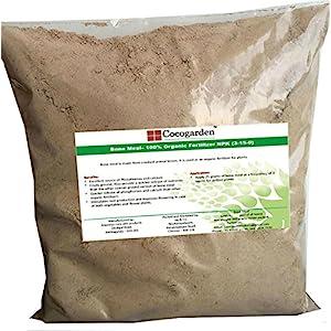 Cocogarden Steamed Bone Meal- Organic Npk(3-15-0) Fertilizer – 900 Gms