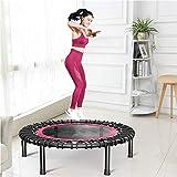 POLINEZX Erwachsene Fitness-Trampolin Bounce Mute Fitness-Trampolin, Für Erwachsene Und Kinder Sind...