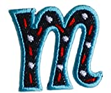 m lettre minuscule 5cm de haut pour Planche À Motifs Broder Beau Loisir Cadeau De Fille de repasser sursacrobesécharpe couvre-litportechapeaufoulardpantalonsac à dosjupe oreiller casquette coussindrapeauplafond vestecoussinbruantà personnaliser les cadeaux pour des sports personnel idée mur appliques garçon en tissu personnellement Baptême motifs tout petit lettres club Fille décoration brodé personnaliser naissance du bricolage Créatif Football répar
