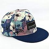 Multi : 2017 Spring Men Women Uni Snapback Adjustable Baseball Cap Cool Floral Cap Hip Hop hat C3297b