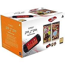Console PSP Street (E1004 noire) + Little big planet - collection essentielles + Naruto Shippuden : Ultimate Ninja heroes 2 - collection essentielles