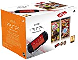 Console PSP Street (E1004 noire) + Little big planet - collection essentielles + Naruto Shippuden : ultimate Ninja heroes 3 - collection essentielles [Importación francesa]