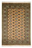 Nain Trading Pakistan Buchara 3ply 182x121 Orientteppich Teppich Beige/Gelb Handgeknüpft Pakistan