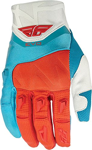 Evolution Race Handschuhe (Fly Racing Handschuhe Evolution Rot Gr. L)