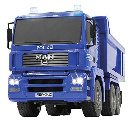 Jamara - 405080 - Tombereau Man Polizei 1:20 2,4G -