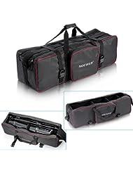 Neewer kit de studio photo/vidéo avec grand sac de transport pour stand de lumière parapluie