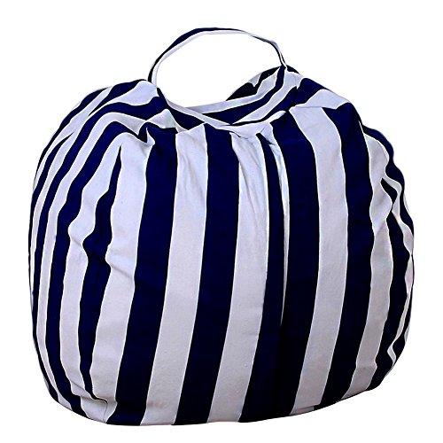 zantec Stofftier verstauen Sitzsack Schutzhülle Tasche für die Kids Plüsch Toys Colorful Große...
