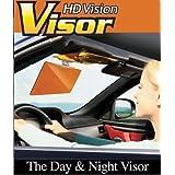 GTC 2 in 1 HD Car Anti-Glare Dazzling Goggle Day Night Vision Driving Mirror Sun Visors (IT N - 265)