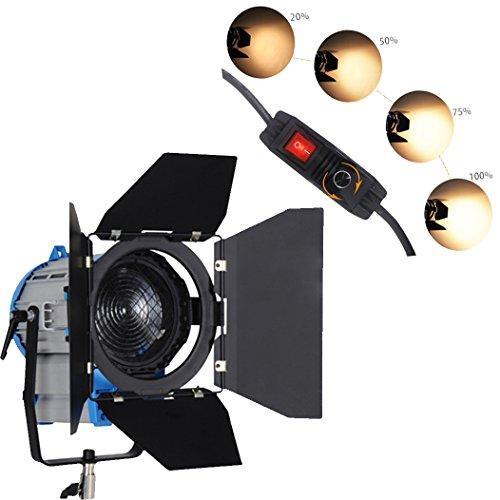 HWASTUDIO ® 500W Dimmer Professional Fresnel Tungsten video continuous light as ARRI Pro Video spot light Built ... (Arri Dimmer)