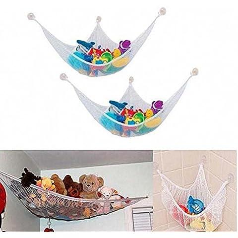 AOHANG Toy Storage Net Toy Hammock Net Organize Stuffed Animals by AOHANG