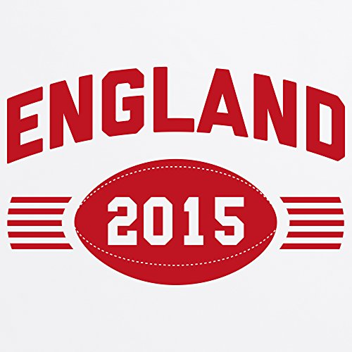 England Supporter T-Shirt, Damen Wei