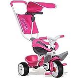 Smoby - Triciclo baby balade, color rosa (444207)