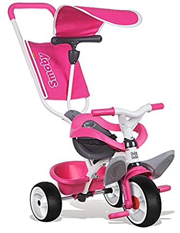 Smoby - 444207 - Baby Balade - Tricycle - Rose