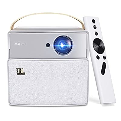 XGIMI CC Aurora 720P Portable Smart Mini Video Projector, Built-in 20000 mAh Battery, Exquisite Carry Bag- Native 720p Support 1080P 4K, Android OS