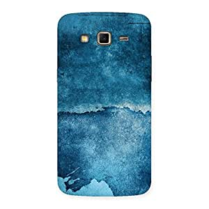 Special Blue Paint Print Back Case Cover for Samsung Galaxy Grand 2