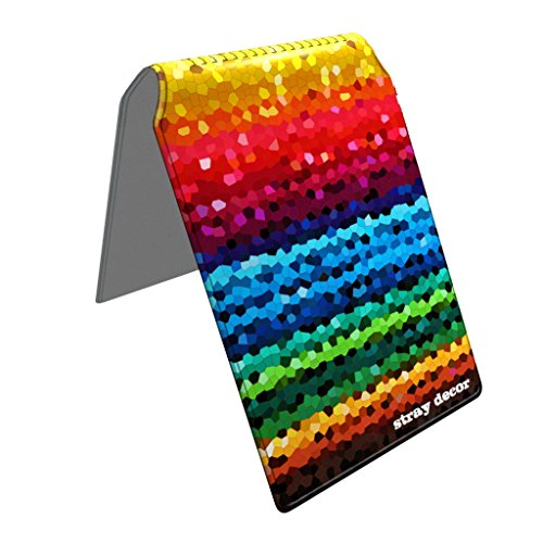 Stray Decor (Mosaic Rainbow) Bus Pass Wallet / Travel, Credit or Oyster Card Holder