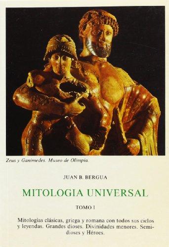 Descargar Libro MITOLOGIA UNIVERSAL: 2 (Tesoro literario,) de Juan Bautista  Bergua