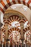 Poster 80 x 120 cm: Die Moschee von Córdoba von Editors