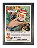 Batchelors Soup A4 Framed Poster Wonderful Canned Foods Picture Vintage Old Advert Artwork Classic Old-fashioned Photo