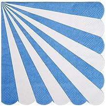 Blue Striped Small Napkin