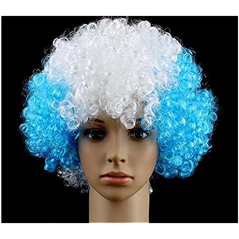 ZZHH Colorata parrucca parrucca Halloween