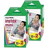 Fujifilm InstaX Mini Film 7330921171958 Rolka Do Aparatów Mini 8-9 I Wszystkich Aparatów Fuji Mini, 40 Klatek