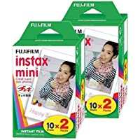 Fujifilm Instax Mini Film (Lot DE 40 Photos) Multi pour Mini 8-9 et Tous Les appareils Photo Fuji Mini