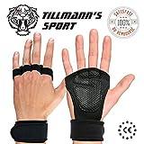 TILLMANN'S Manique Crossfit -Gant de Musculation -Protège Poignets/Mains -Entraînements de Gym/Gymnastique/Halterophilie/Fitness/Barre de Traction -Taille Homme -Soldes