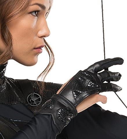 "Rubie's Bogenschützen-Handschuh der Katniss Everdeen aus ""Die Hungerspiele"", Kostüm-Zubehör, offizielles Lizenzprodukt – (Hunger Games Archer Kostüm)"